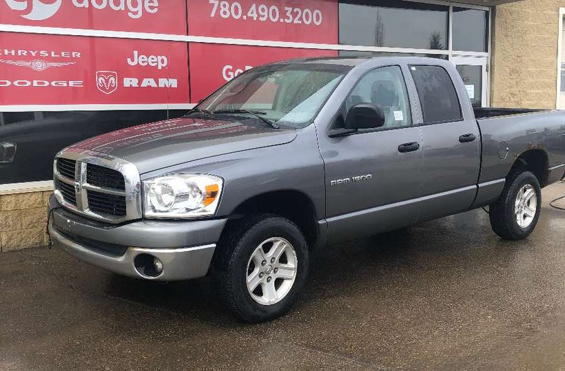 Grey 2007 Dodge Ram 1500 SLT for sale in Edmonton, Alberta