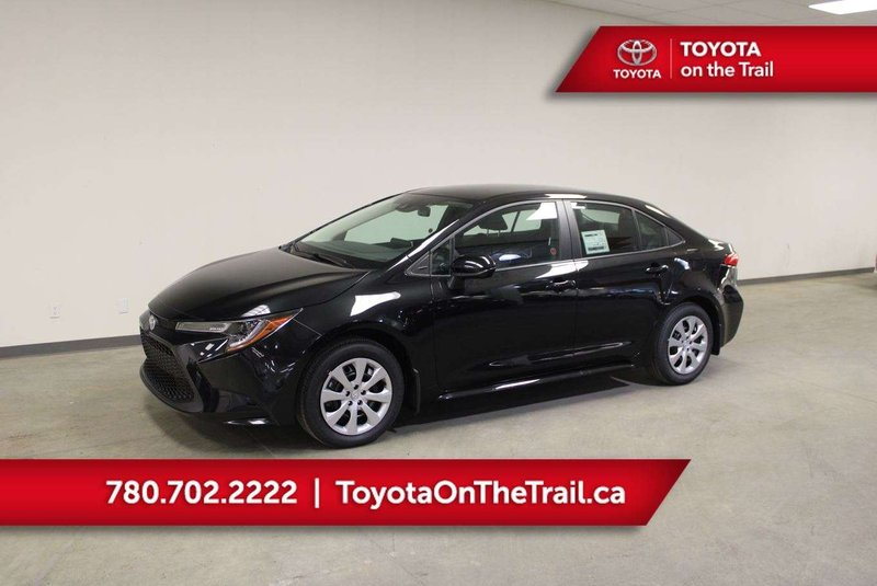 Black 2020 Toyota Corolla LE for sale in Edmonton, Alberta