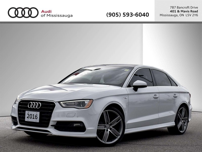 2016 Audi A3 for sale in Mississauga, Ontario