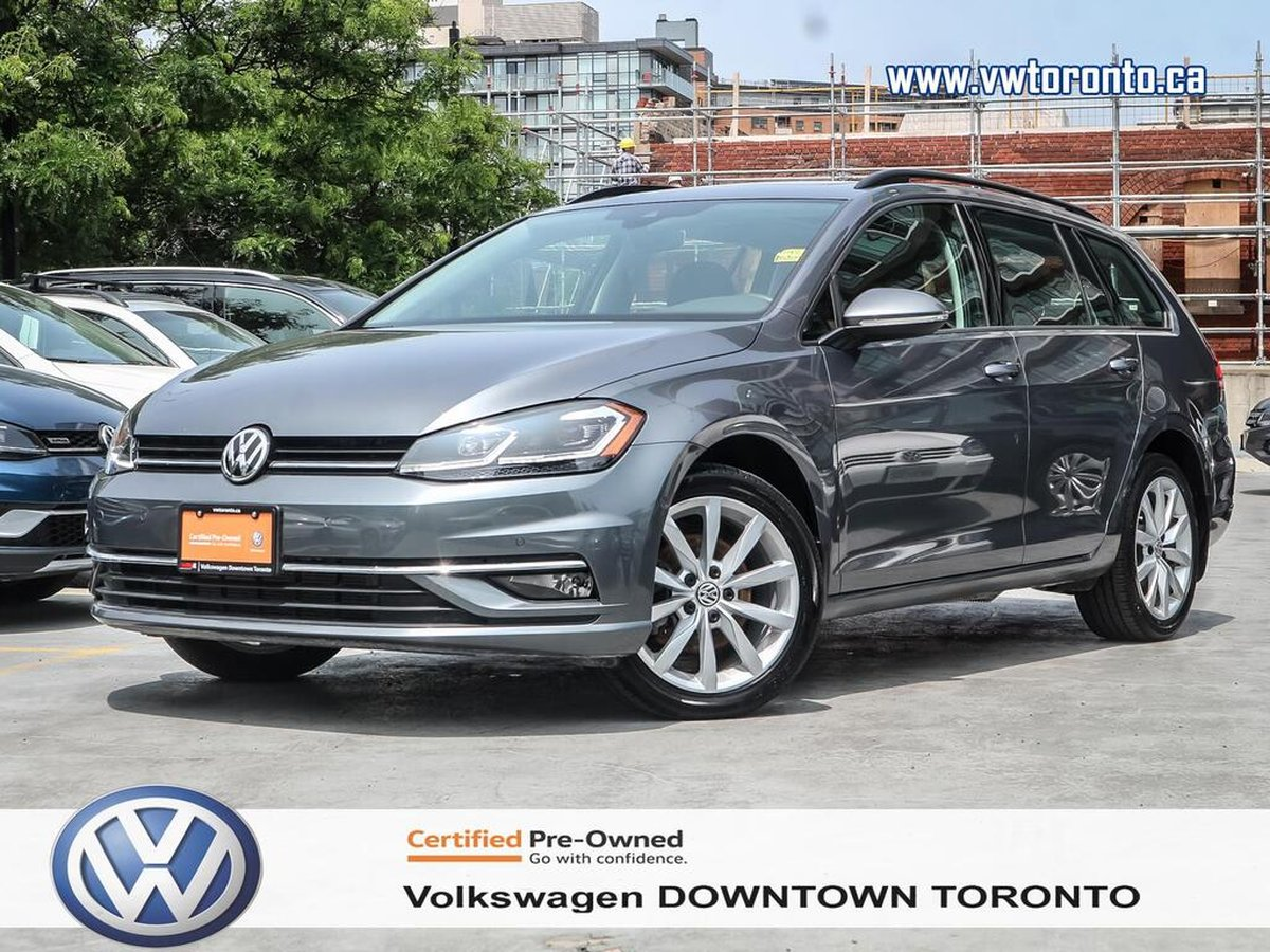 Volkswagen Downtown Toronto >> 2018 Volkswagen Golf Sportwagen For Sale In Toronto