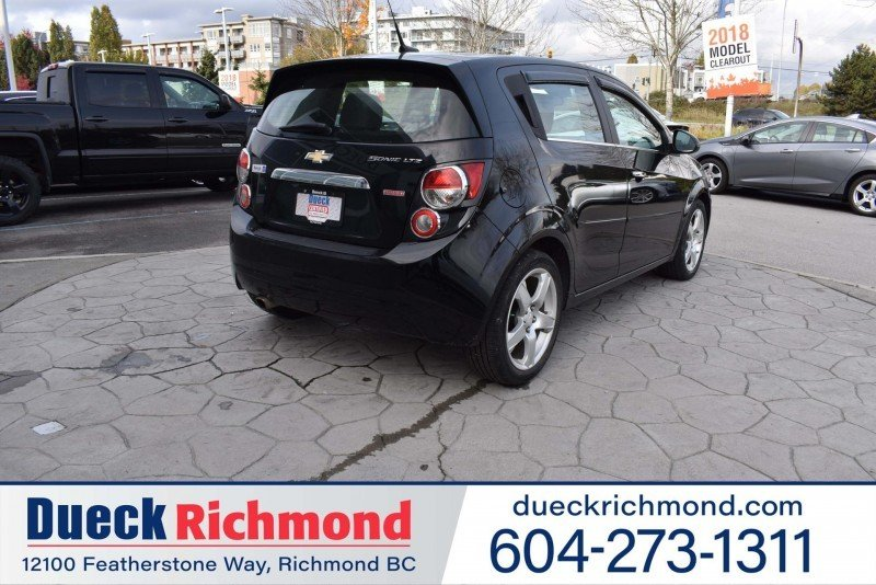 2012 Chevrolet Sonic for sale in Richmond, British Columbia