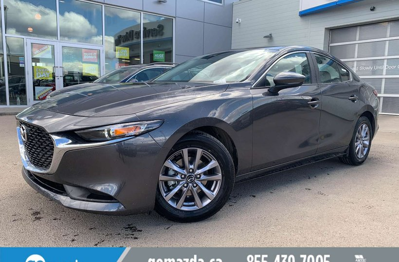 Grey 2019 Mazda Mazda3 GX for sale in Edmonton, Alberta