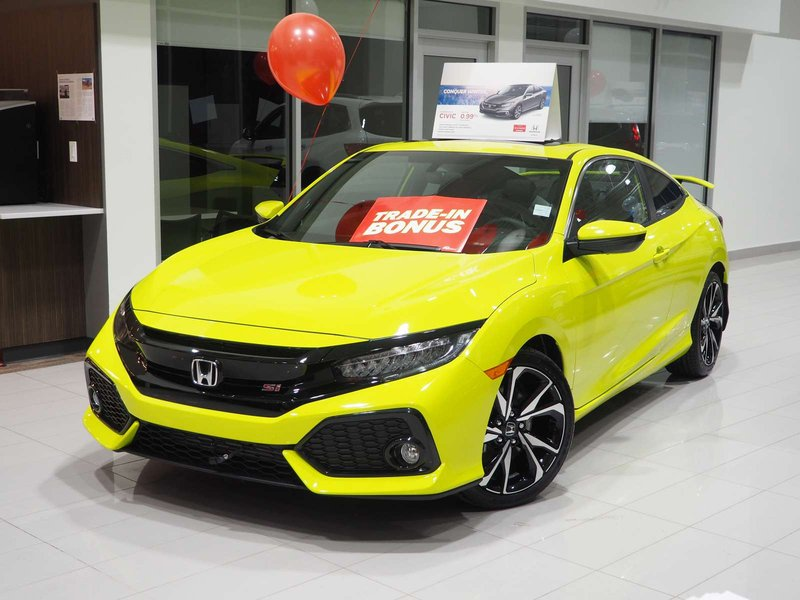 2019 Honda Civic Si Coupe For Sale In Edmonton