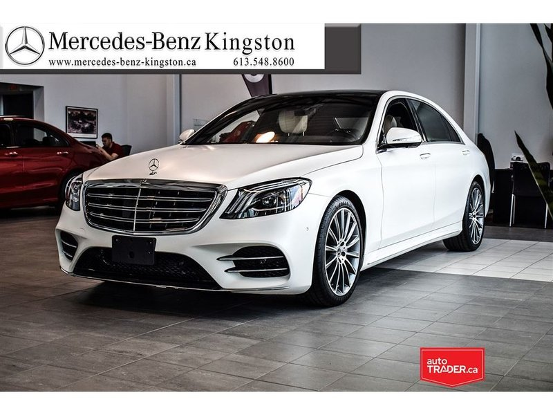 2018 Mercedes-Benz S-Class for sale in Kingston, Ontario