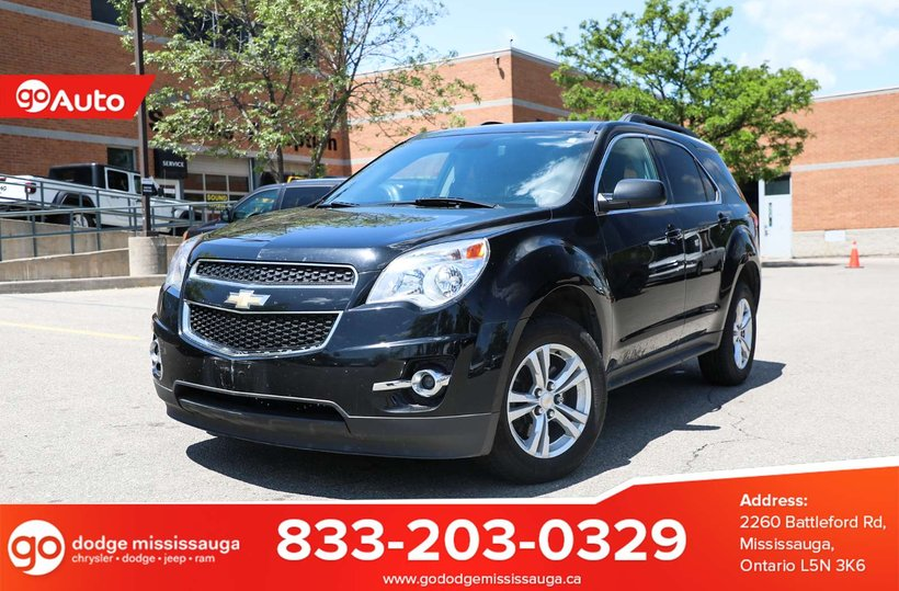 Black 2013 Chevrolet Equinox LT for sale in Mississauga, Ontario