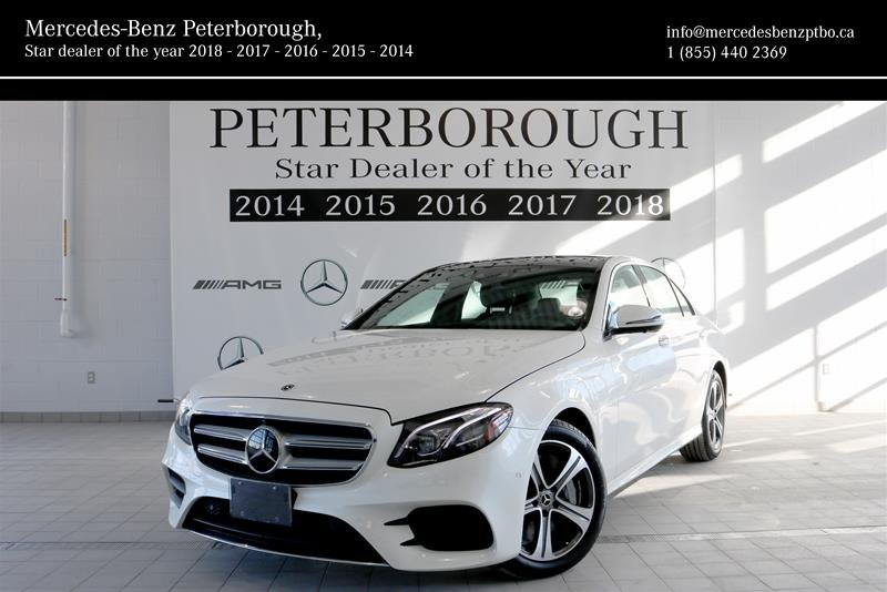 2018 Mercedes-Benz E-Class for sale in Peterborough, Ontario