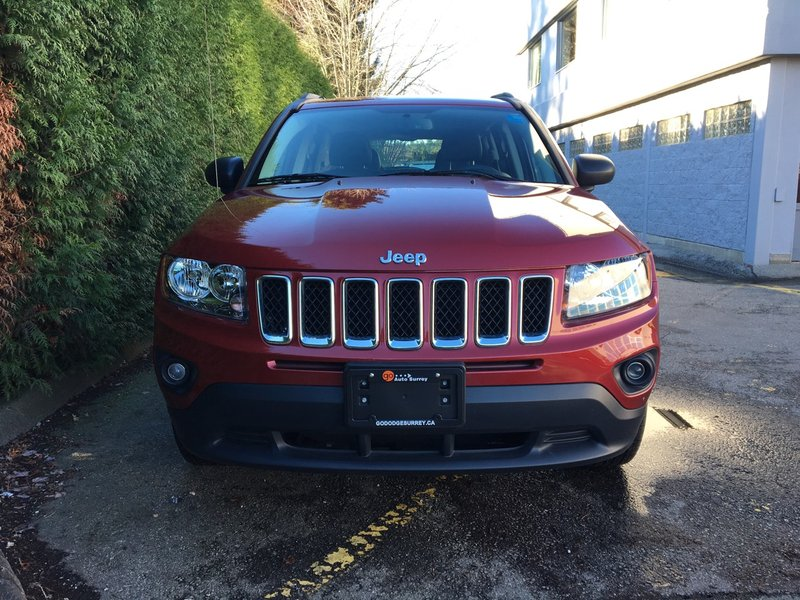 2016 Jeep Compass for sale in Surrey, British Columbia