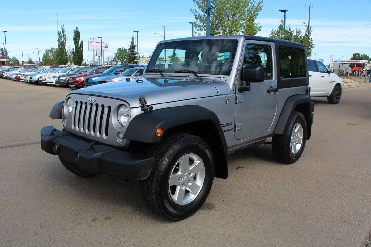 2014 Jeep Wrangler for sale in Edmonton, Alberta