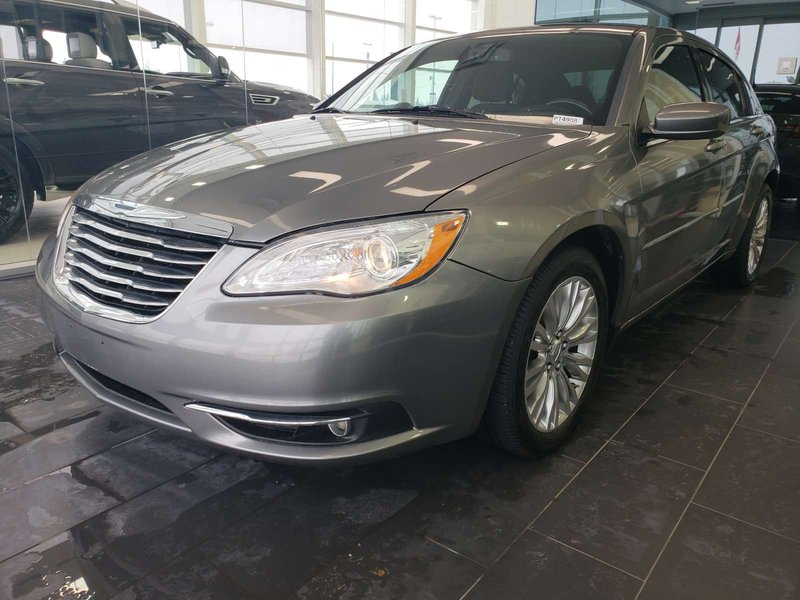 2012 Chrysler 200 for sale in Edmonton, Alberta