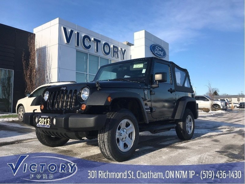 2013 Jeep Wrangler for sale in Chatham, Ontario