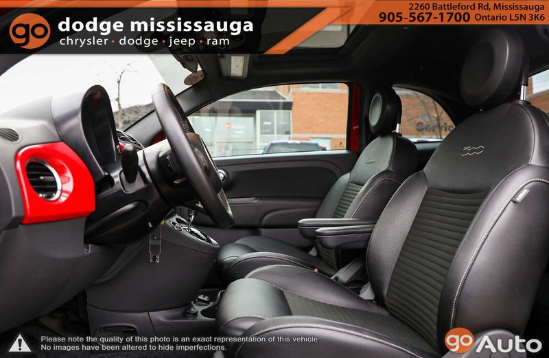 2015 Fiat 500 for sale in Mississauga, Ontario