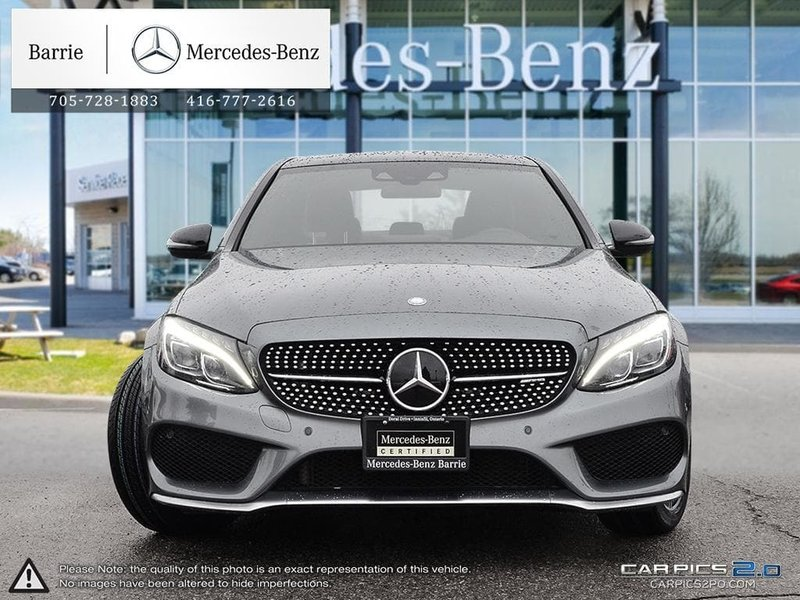2017 Mercedes-Benz C-Class for sale in Innisfil, Ontario