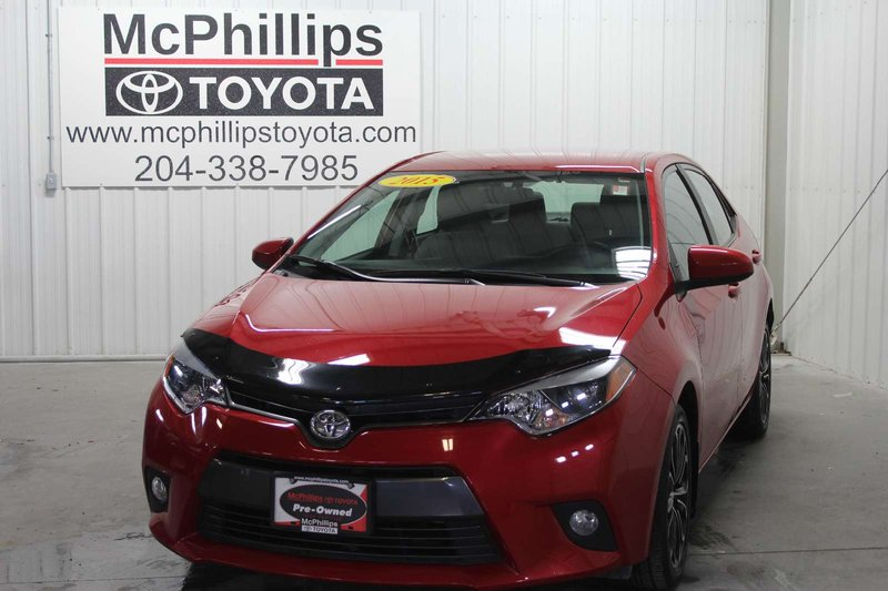 2015 Toyota Corolla for sale in Winnipeg, Manitoba