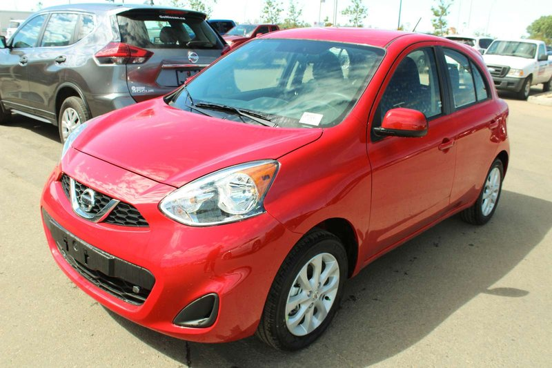 Red 2019 Nissan Micra SV for sale in Edmonton, Alberta