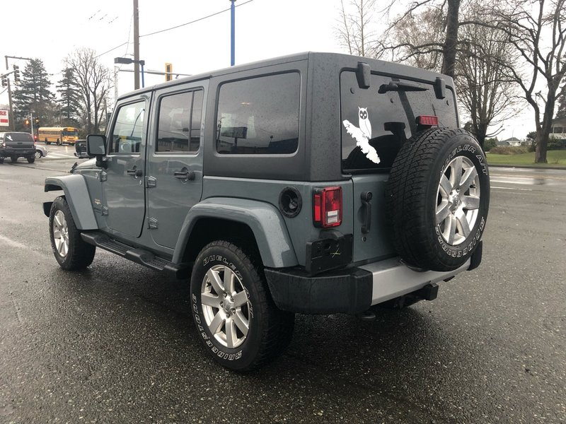 2014 Jeep Wrangler Unlimited for sale in Campbell River, British Columbia