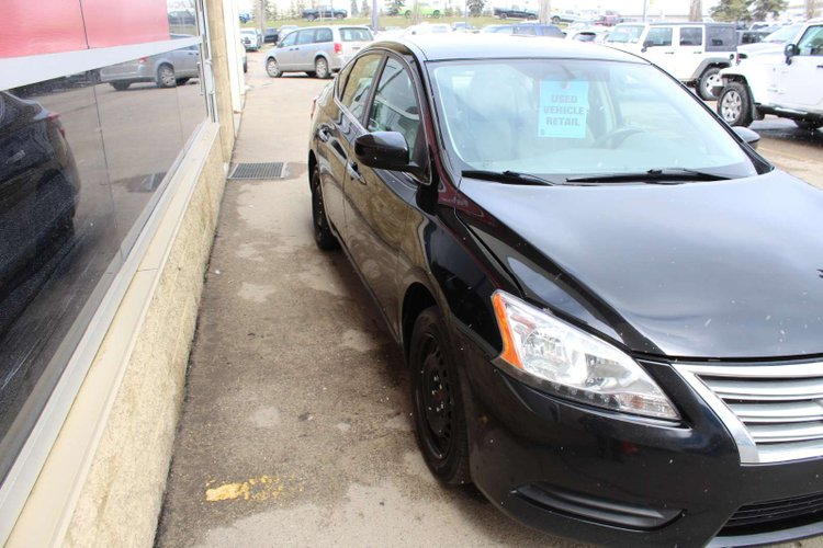 2013 Nissan Sentra SV for sale in Edmonton, Alberta