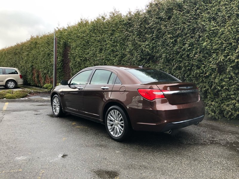2012 Chrysler 200 for sale in Surrey, British Columbia