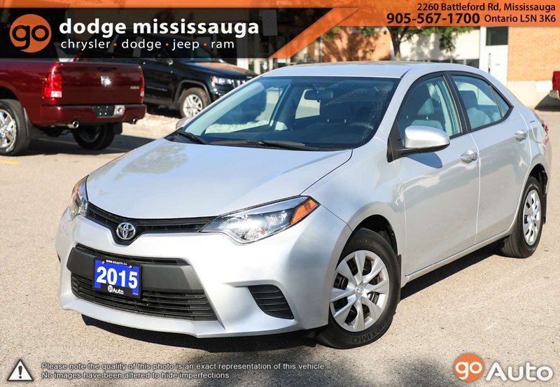 2015 Toyota Corolla for sale in Mississauga, Ontario
