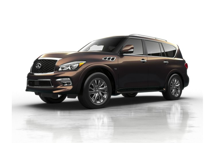 2017 Infiniti QX80 Base 7 Passenger for sale in Edmonton, Alberta