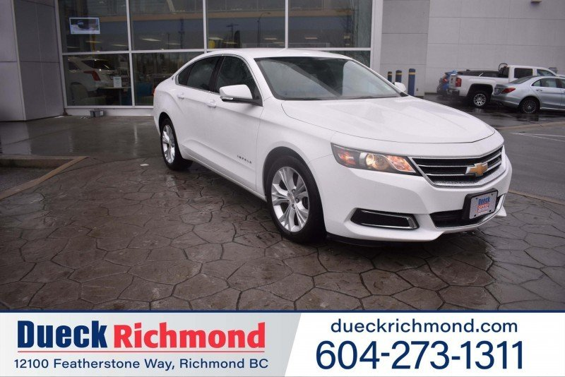 2015 Chevrolet Impala for sale in Richmond, British Columbia