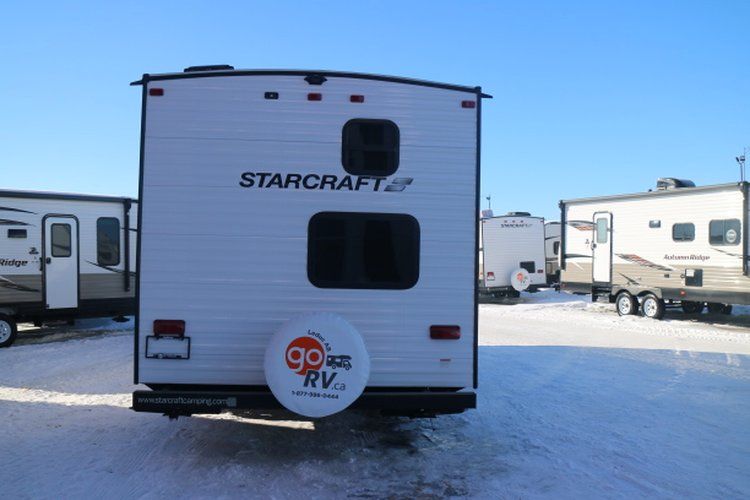 2019 Starcraft AUTUMN RIDGE OUTFITTER 26BH Only $107 biweekly OAC. New travel trailer, sleeps 8, with bunk beds!  for sale in Leduc, Alberta