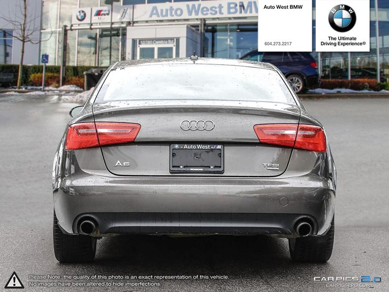2014 Audi A6 for sale in Richmond, British Columbia
