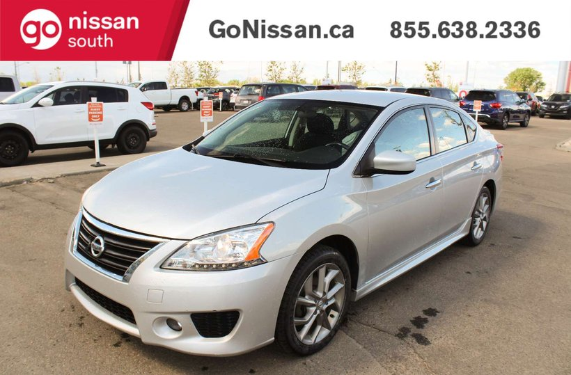 Silver 2013 Nissan Sentra SV for sale in Edmonton, Alberta