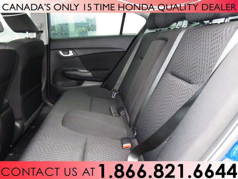 2015 Honda Civic Sedan for sale in Hamilton, Ontario
