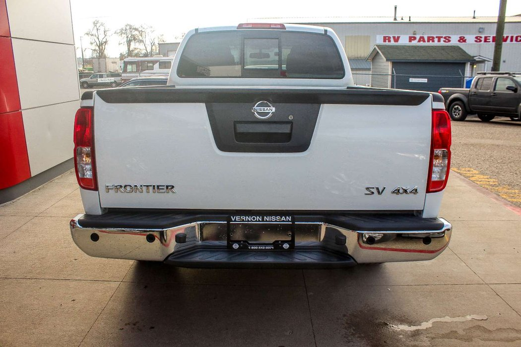 2018 Nissan Frontier For In Vernon British Columbia