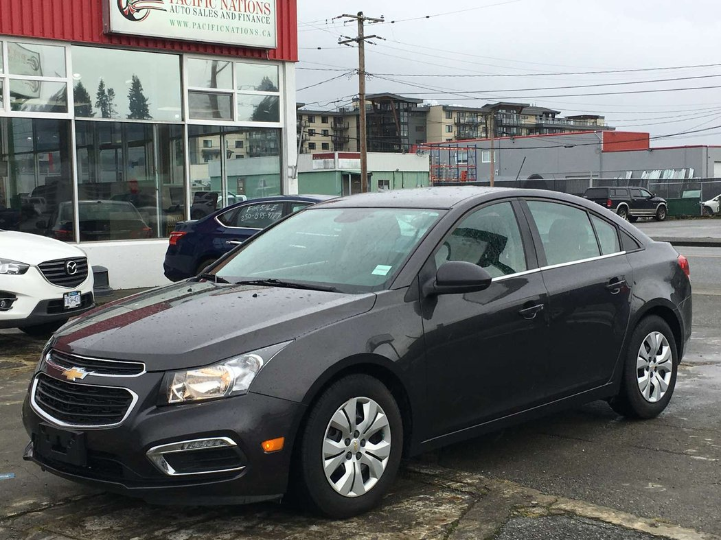 2015 Chevrolet Cruze For Sale In Campbell River