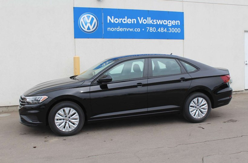 Black 2019 Volkswagen Jetta Comfortline for sale in Edmonton, Alberta
