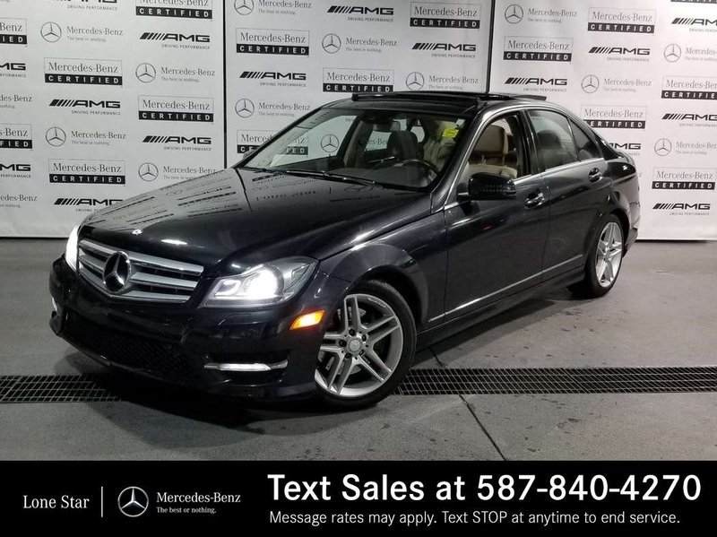 2012 Mercedes-Benz C-Class for sale in Calgary, Alberta