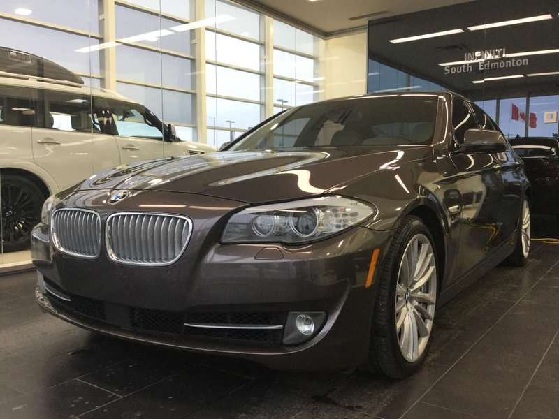 2011 BMW 5 Series for sale in Edmonton, Alberta