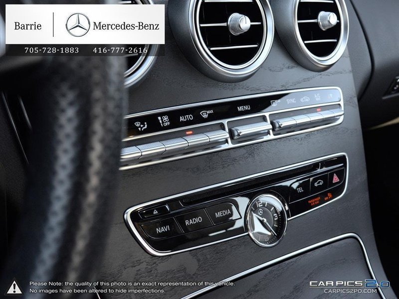 2015 Mercedes-Benz C-Class for sale in Innisfil, Ontario