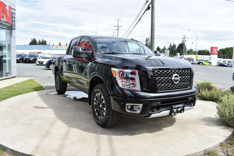 2018 Nissan Titan for sale in Campbell River, British Columbia