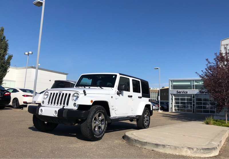 2016 Jeep Wrangler Unlimited for sale in Edmonton, Alberta