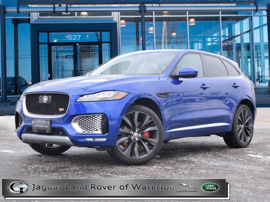 2017 jaguar f-pace for sale in waterloo