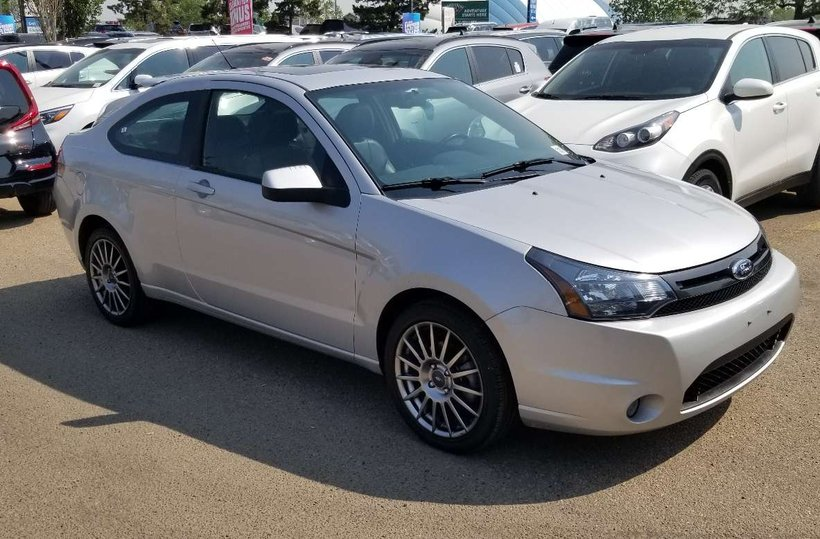 Silver 2009 Ford Focus SES for sale in Edmonton, Alberta