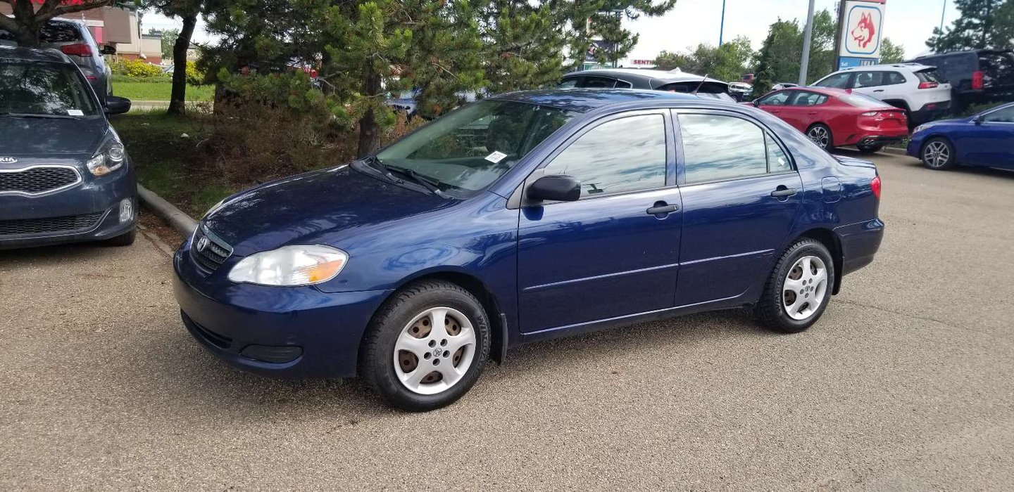 2008 Toyota Corolla CE for sale in Edmonton, Alberta