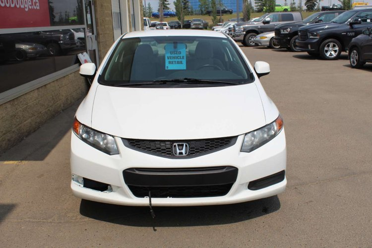2012 Honda Civic Cpe LX for sale in Edmonton, Alberta