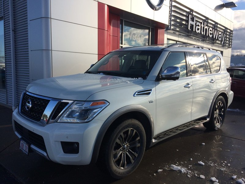 2017 Nissan Armada for sale in Bathurst, New Brunswick