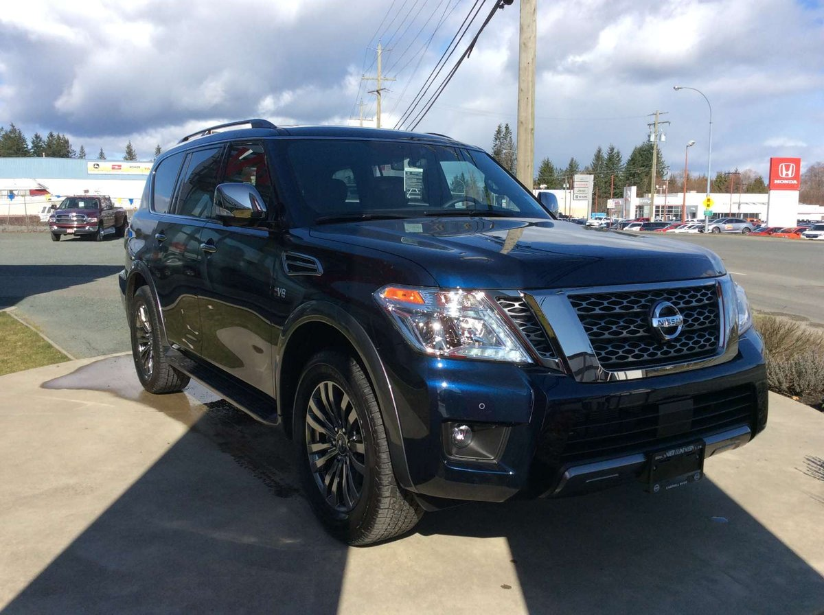 2018 Nissan Armada for sale in Campbell River, British Columbia