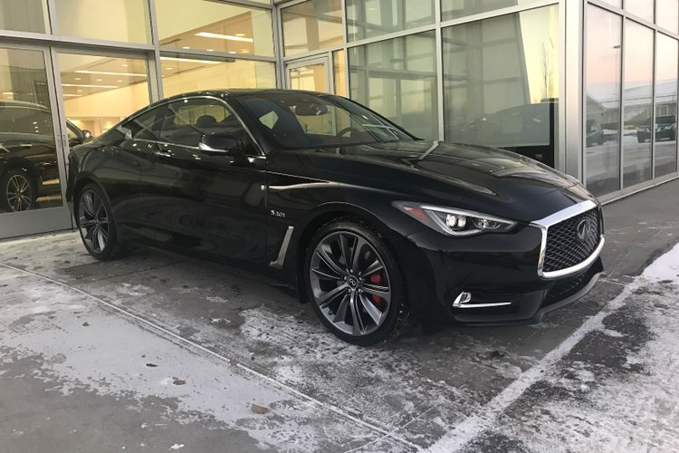 2018 Infiniti Q60 Coupe 3.0t Red Sport 400 For Sale In Edmonton, Alberta