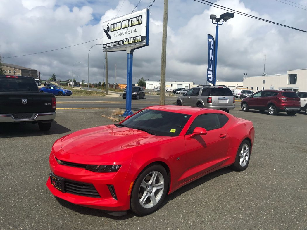 2017 Chevrolet Camaro For Sale In Campbell River