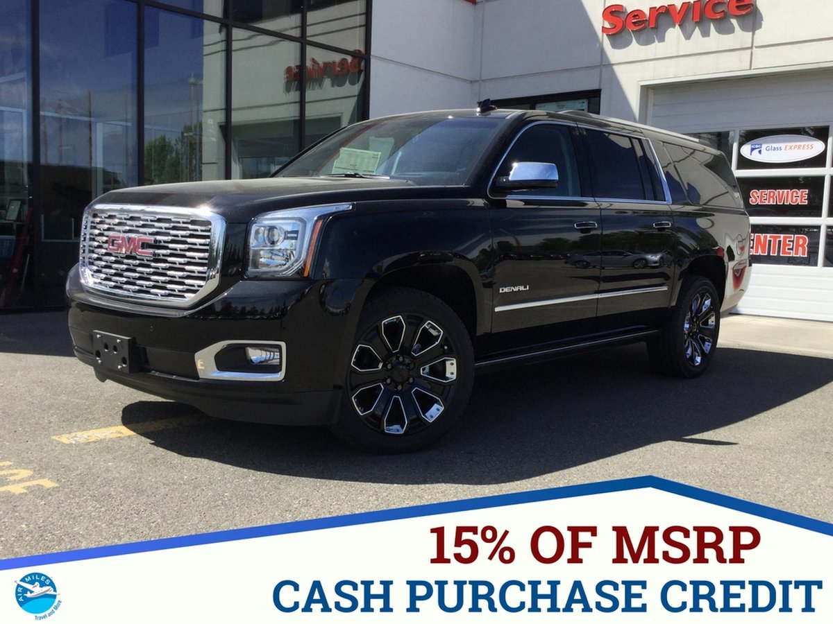 Gmc Yukon Xl For Sale >> 2019 Gmc Yukon Xl For Sale In Prince George