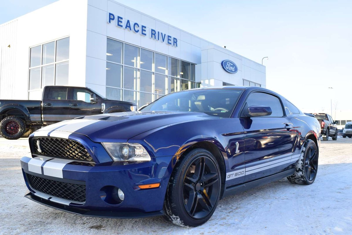 2011 ford shelby gt500 for sale in peace river alberta