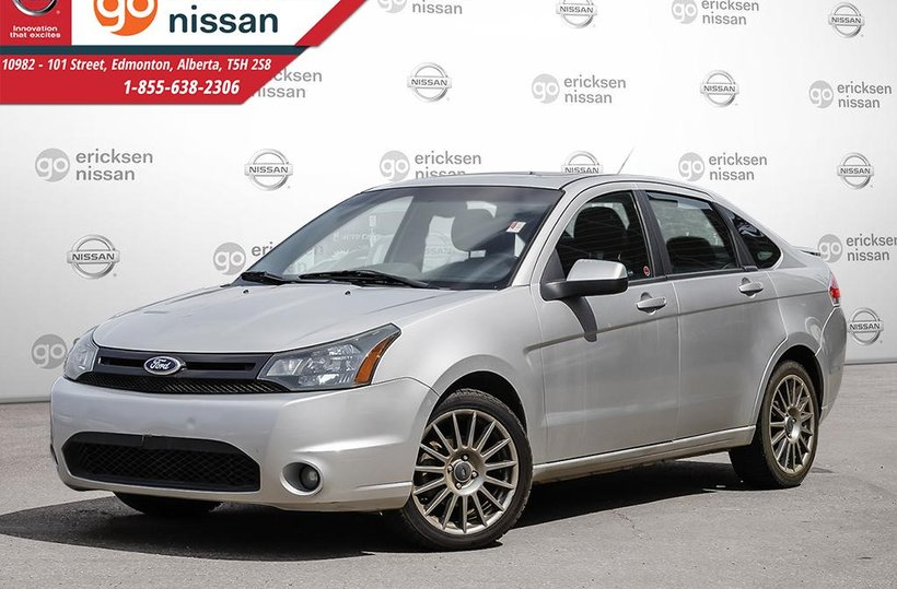 Silver 2011 Ford Focus SES for sale in Edmonton, Alberta