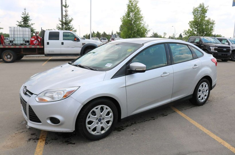 Silver 2013 Ford Focus SE for sale in Edmonton, Alberta