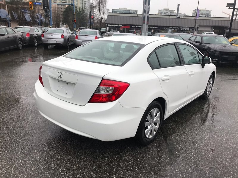 2012 Honda Civic Sedan for sale in Richmond, British Columbia