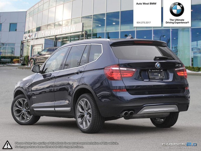 2015 BMW X3 for sale in Richmond, British Columbia